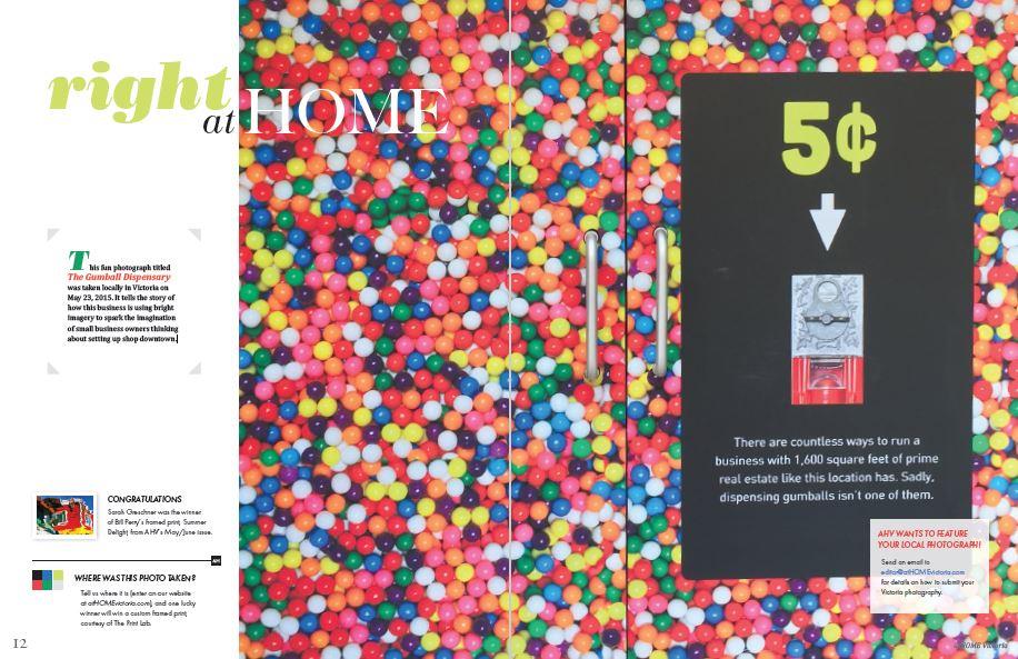 at HOME Victoria magazine contest