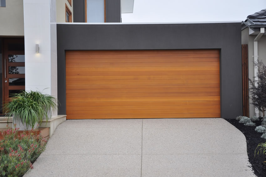 Modern garage doors for your home at victoria
